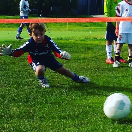 Kid Goalkeeper
